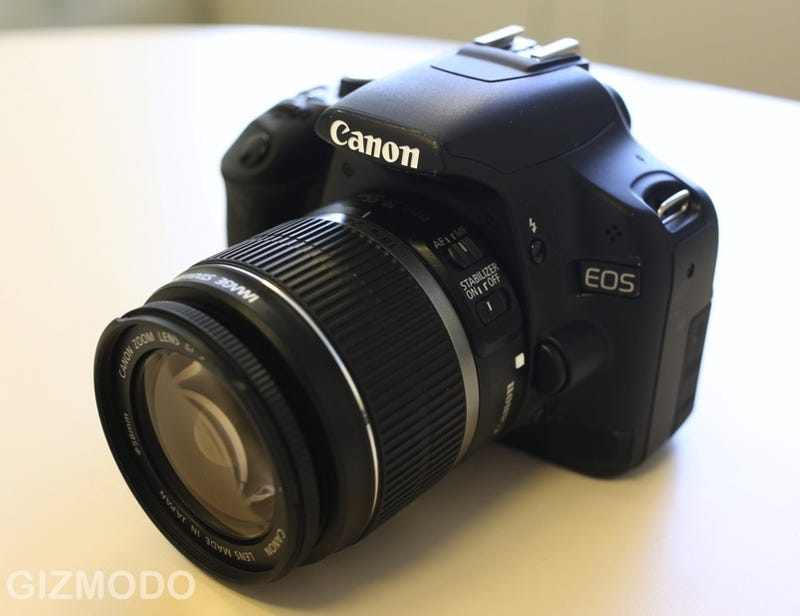 Illustration for article titled Canon EOS Rebel T1i First Hands On: 50D's Sensor, 1080p Vids, $899 (!!)
