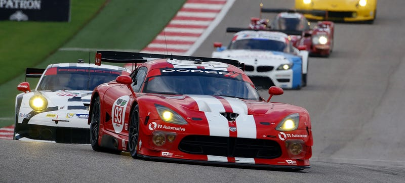 Illustration for article titled BREAKING: The Dodge Viper Is Finished With Road Racing After 2014