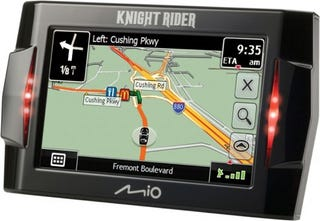 Illustration for article titled Knight Rider-Themed GPS System Gets Original Voice Of KITT
