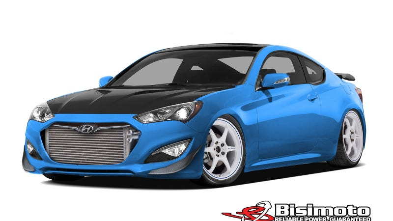 Illustration for article titled Hyundai Partners With Powertrain Guru Bisimoto To Create 1,000 Horsepower SEMA Show Genesis Coupe