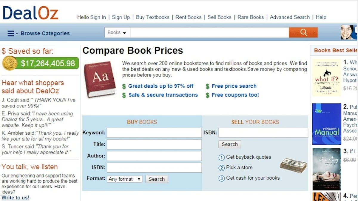 Five best sites to buy cheap textbooks fandeluxe Image collections