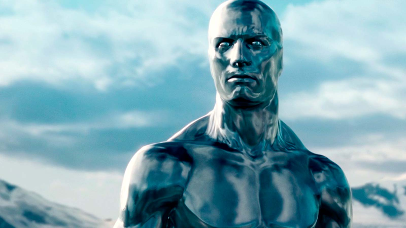 Yeah, he was the Silver Surfer, too.