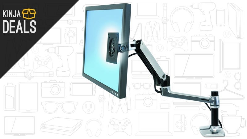 Illustration for article titled This Popular Monitor Arm Is Way Cheaper Than It Should Be