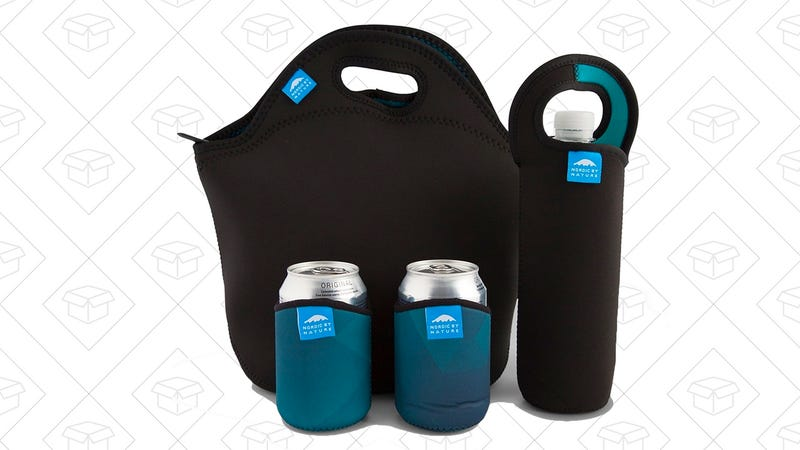 Nordic By Nature LARGE Neoprene Lunch Bag Set | $15 | Amazon