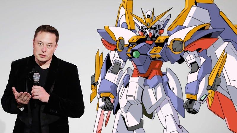 Foto: AP Images / Gundam. Editada por: Matías Zavia.