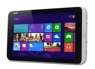Illustration for article titled Llegan las mini-tabletas con Windows 8: así es el Acer Iconia W3