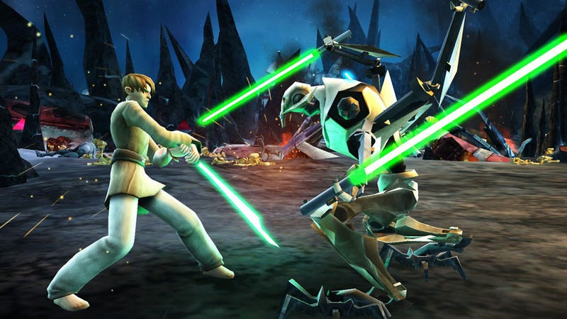 Illustration for article titled Season Four of Star Wars: The Clone Wars Begins Online in Clone Wars Adventures