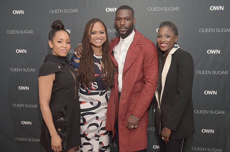 Dawn-Lyen Gardner, Ava DuVernay, Kofi Siriboe and Rutina Wesley attend  screening of Queen Sugar in New York City on Sept. 1, 2016. (Jason Kempin/Getty Images for OWN