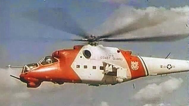 Why Is This Mi24 Hind Wearing US Coast Guard Colors