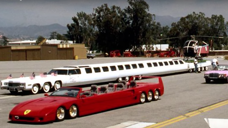 the world s longest car has a jacuzzi and a helipad