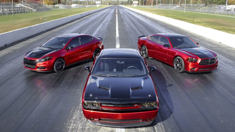 Illustration for article titled Staged For Launch: Dodge Reveals New Scat Package Stage Kits With Mopar Performance Parts At 2013 SEMA Show
