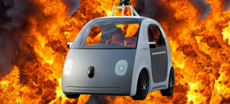 Illustration for article titled Is The Google Car A New Dawn For Car Bombs?