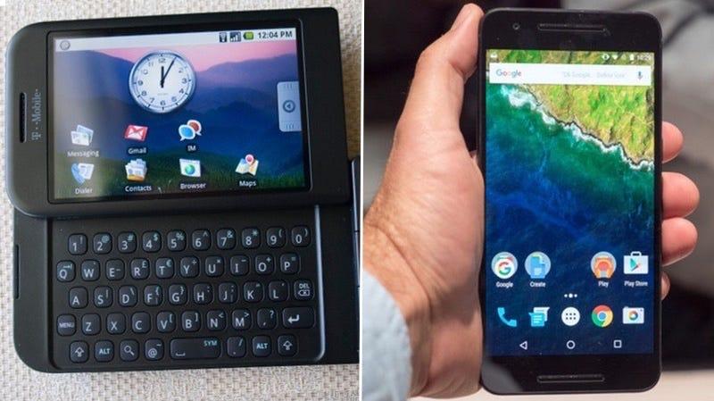 10 años de historia: la evolución de la pantalla de inicio de Android desde el 2008 hasta hoy