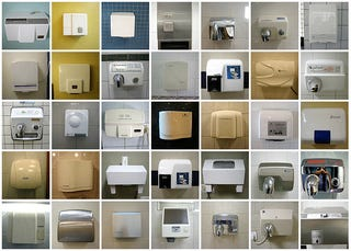 Illustration for article titled Electric Hand Dryers From Around the World