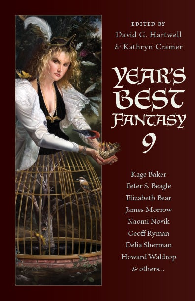 "Illustration for article titled New Tor.com Print-On-Demand Line Launches with ""Year's Best Fantasy 9"""