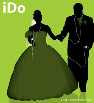 Illustration for article titled iDo: Utilizing the iPod for Wedding Planning