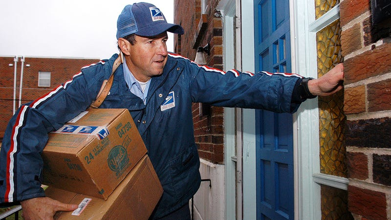 Illustration for article titled Online Sales Blamed for Increase in Dog Attacks on Mail Carriers