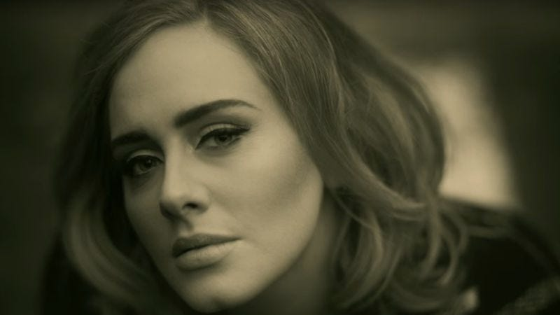 """Adele in the """"Hello"""" video"""