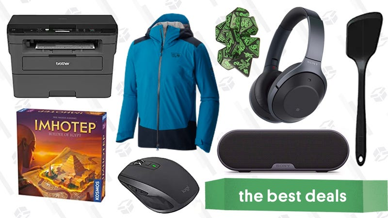 Illustration for article titled Sunday's Best Deals: Board Games, Brother Printer, REI Garage Sale, and More