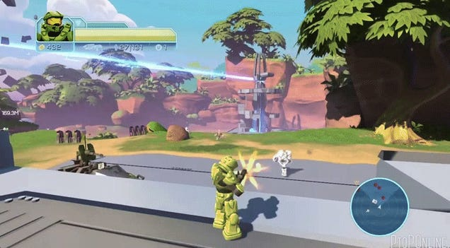 Apparent Leaked Footage Reveals Cancelled Mega Bloks Halo Game
