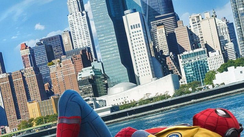 Illustration for article titled These new Spider-Man: Homecoming posters explore the laid-back side of superhero life
