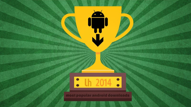 Illustration for article titled Most Popular Android Downloads and Posts of 2014