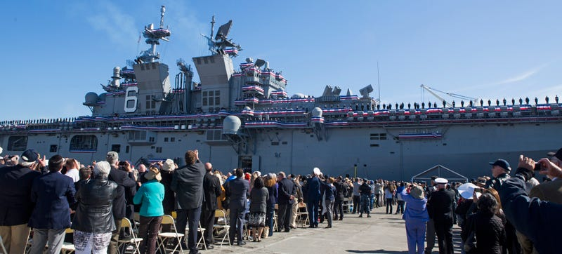 USS America: The Navy's Newest Flattop Can't Decide What The Hell It Is