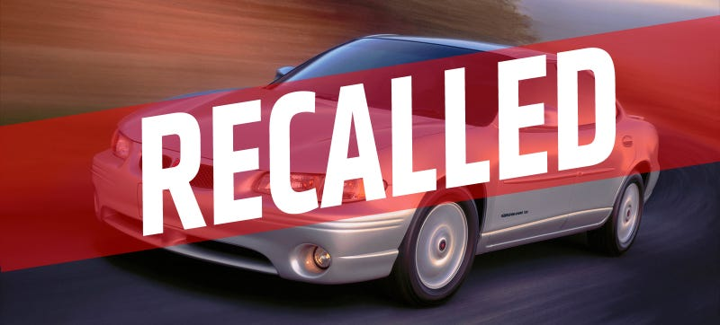 Illustration for article titled When Must A Manufacturer Issue A Recall?