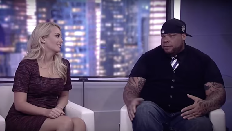 Illustration for article titled Report: Former WWE Wrestler Tyrus Sent Gross, Incoherent Texts To Co-Host Britt McHenry