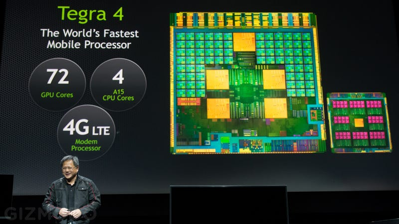 Illustration for article titled The Tegra 4 Is Here