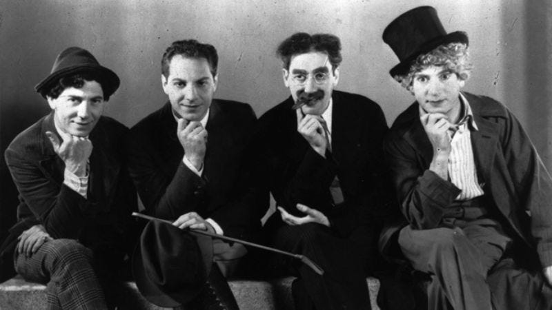 Illustration for article titled The Marx brothers