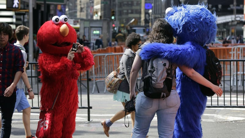 Illustration for article titled Cookie Monster Arrested for Groping a Teen in Times Square