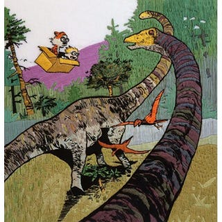 Illustration for article titled Hand-Embroidered Calvin and Hobbes Scene Is Just Phenomenal