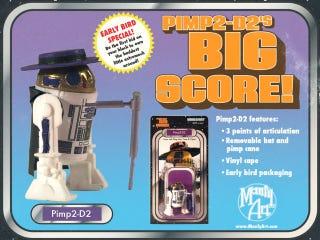 Illustration for article titled Pimp2-D2 is the newest, greatest action figure in the galaxy