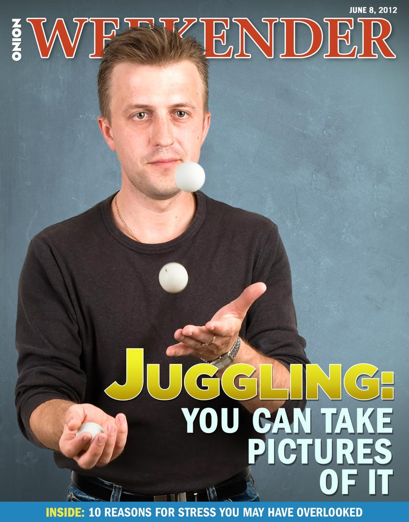 Illustration for article titled Juggling: You Can Take Pictures Of It