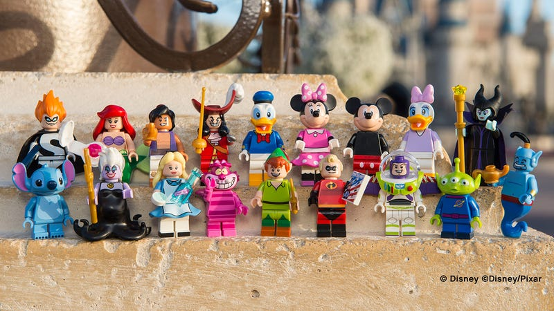 Illustration for article titled Lego's Next Minifigure Collection Features Some of Disney's Best Characters