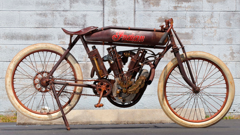 Illustration for article titled I Will Sell You My Kidneys For This 1914 Indian Board Track Motorcycle
