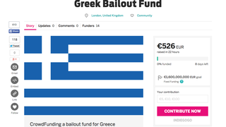 Someone Is Trying to Crowdfund a Greek Bailout Because Why Not