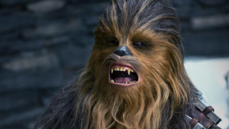 ¿Qué está diciendo Chewbacca? Imagen: Lucasfilm/Disney