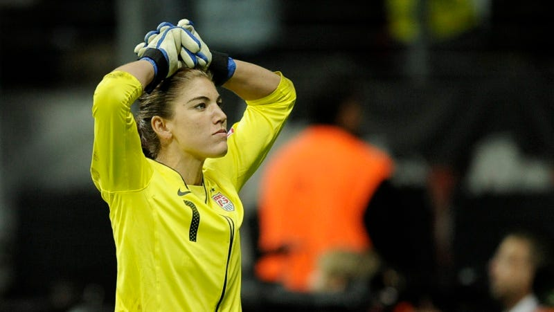 Illustration for article titled Hope Solo Will Face Domestic Violence Charges