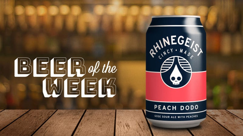 Illustration for article titled Beer Of The Week: Rhinegeist Peach Dodo gose is a fruit beer for nerds and newbies alike