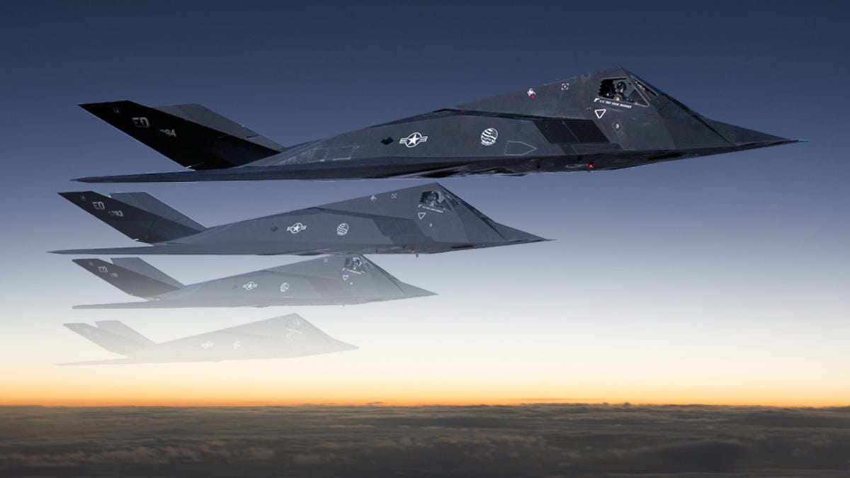 The F 117 Stealth Fighter Program Actually Had A Klingon Cloaking 22 Raptor Engine Diagram Device
