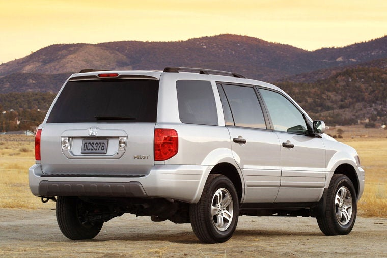 honda pilot throughout the years. Black Bedroom Furniture Sets. Home Design Ideas