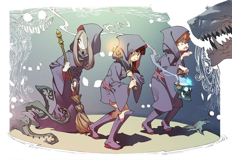 Illustration for article titled Hooray, There's More Little Witch Academia Coming
