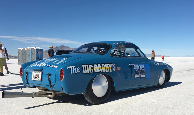 Illustration for article titled Here's Some of the Best and Weirdest Cars at Bonneville's World of Speed