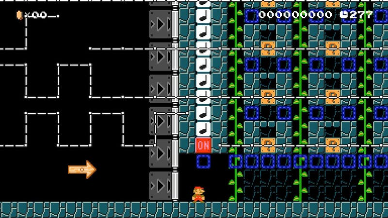 Mario Maker Level Lets You Compose Music And Play It Back
