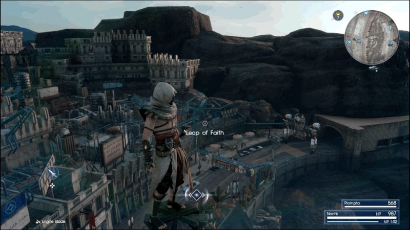 Final Fantasy XV's Fascinating Assassin's Creed Expansion Is