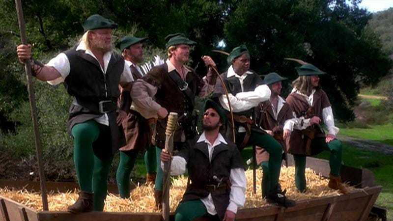 "Robin Hood: Men In Tights. ""Yo dogg I heard you like Robin Hood so I made you a Robin Hood for your Robin Hood"""
