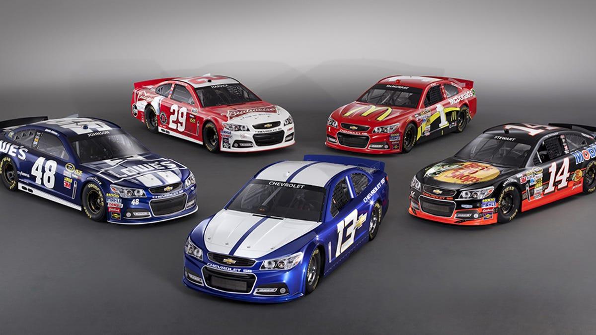 NASCAR Race Car VS Regular Car