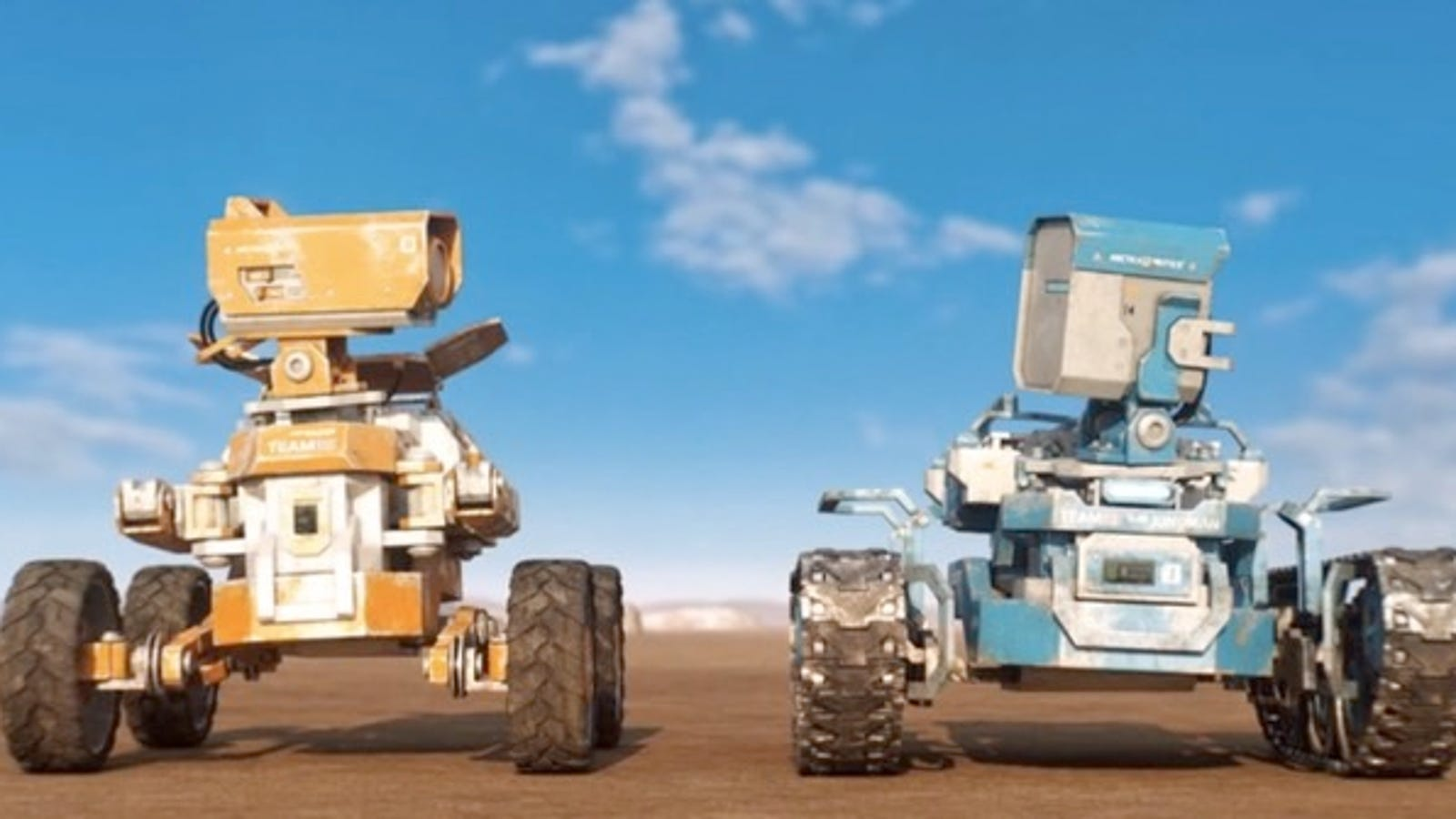 A Pair of Space Rovers Embark on an Unexpectedly Wild Mission in Charming Short Planet Unknown